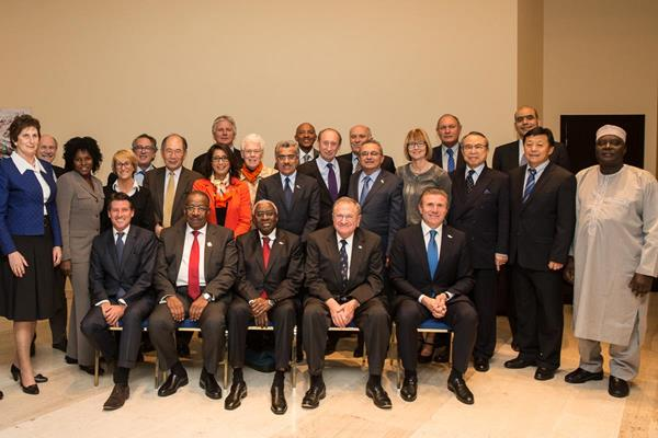 IAAF Council - 18 November 2014 (IAAF / Philippe Fitte)