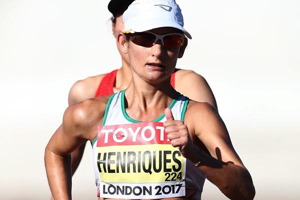 Ines Henriques in the 50km race walk at the IAAF World Championships London 2017 (Getty Images)