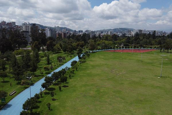 Carolina Park in Quito