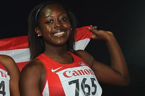 US sprinter Mikiah Brisco (Getty Images)