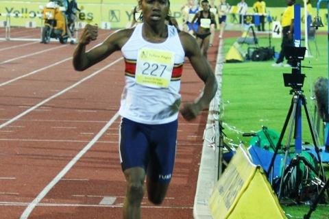 Caster Semenya in Germiston (Mark Ouma)