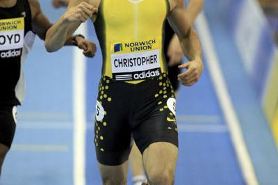 Canadian national record for Tyler Christopher in Birmingham (Getty Images)