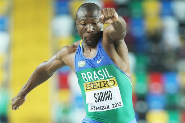 Brazilian triple jumper Jefferson Sabino (Getty Images)