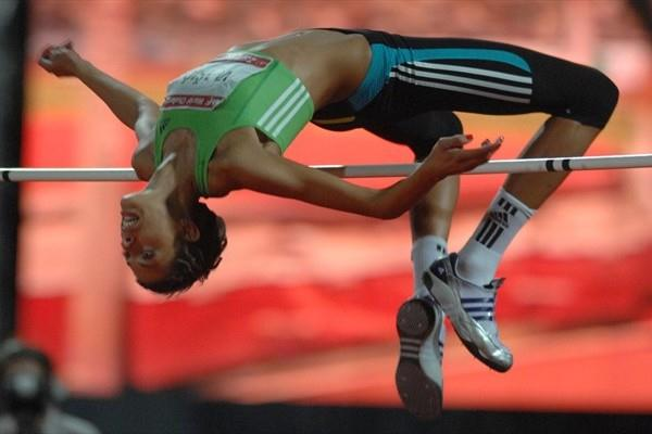 Blanka Vlasic clears 2.02m in Zagreb (Zagreb meeting organisers)