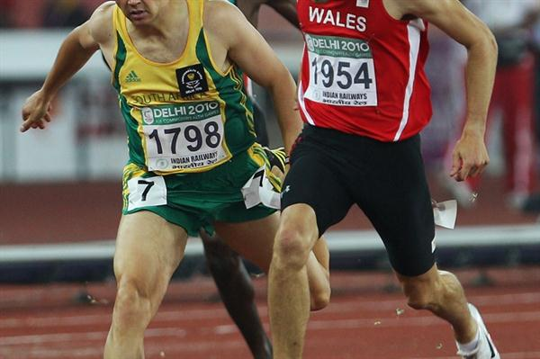 David Greene edges LJ van Zyl to take 400m Hurdles gold in Delhi (Getty Images)