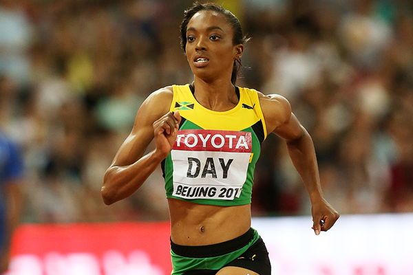 Jamaica's Christine Day in the 400m at the IAAF World Championships Beijing 2015 (Getty Images)