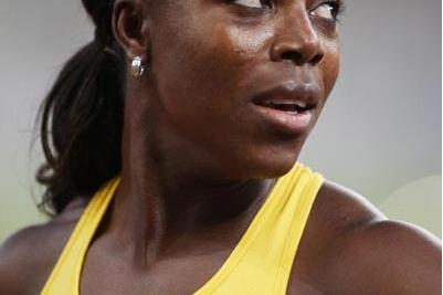 Veronica Campbell-Brown at the 2008 Athens Grand Prix (INTIME)