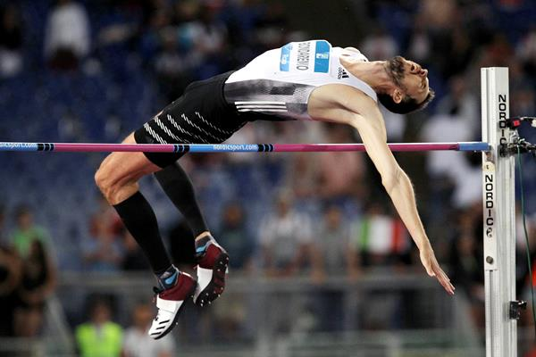 Bogdan Bondarenko wins the high jump at the IAAF Diamond League meeting in Rome (Jean-Pierre Durand)