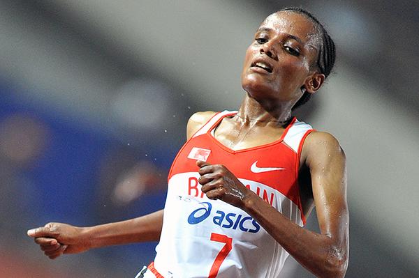 Bahraini distance runner Shitaye Eshete (AFP / Getty Images)