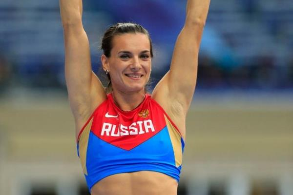 Elena Isinbaeva in the women's Pole Vault at the IAAF World Athletics Championships Moscow 2013 (Getty Images)