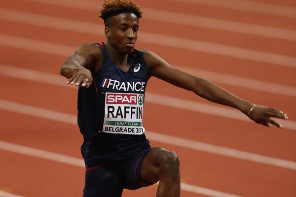 Melvin Raffin of France in Belgrade (Getty Images)