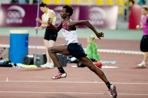 Muamer Essa Barshim at the 2012 Doha Diamond League (Alexandra P Kavoura)