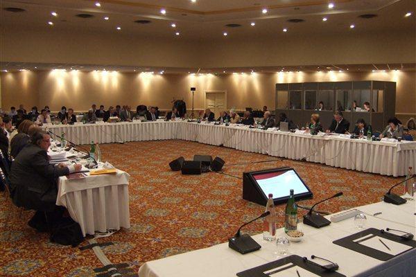 IAAF Council meeting in session, Monaco, 9 Nov 2011 (IAAF)
