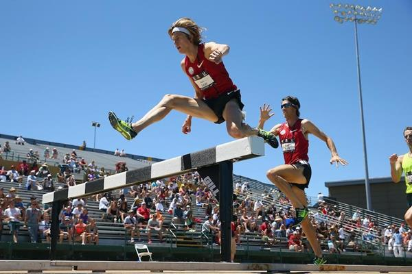 Evan Jager in action at the US Championships (Getty Images)
