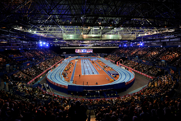 General view of the Birmingham Indoor Grand Prix (Getty Images)