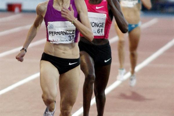 Nuria Fernandez clocks world-leading 8:38.05 in Huelva (Francisco Javier Aznar)