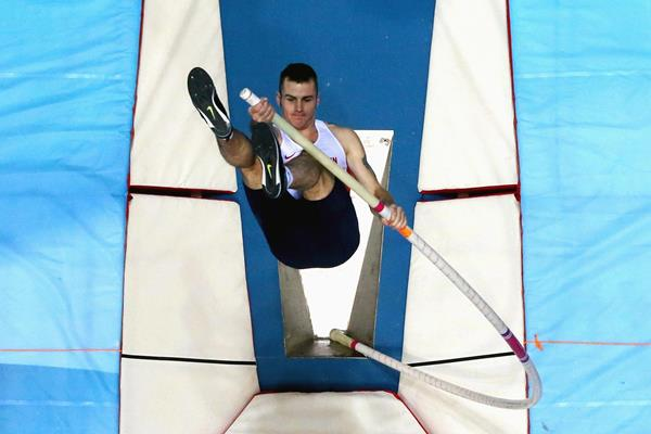 British pole vaulter Luke Cutts (Getty Images)