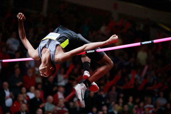 Mutaz Essa Barshim, winner of the high jump (SITA/Ján Viazanička)