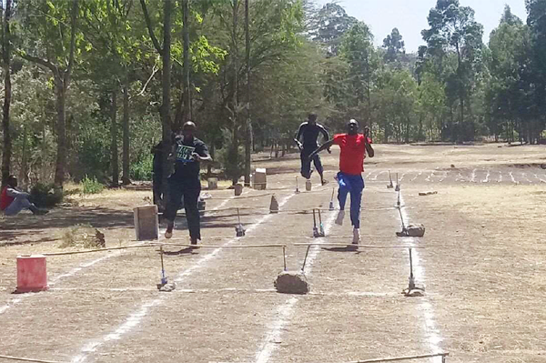 The Athletics for a Better World project in Ngong, Kenya ()
