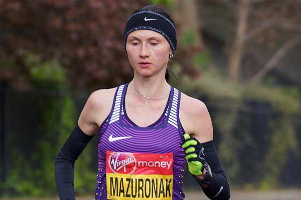 Belarusian distance runner Volha Mazuronak (Julian Mason)