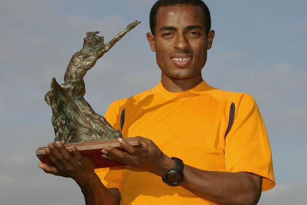 2005 World Athlete of the Year Kenenisa Bekele (Getty Images)