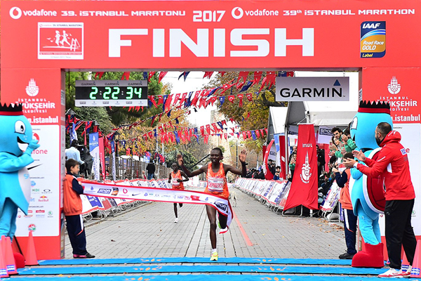 Ruth Chepngetich wins the Istanbul Marathon (Organisers)