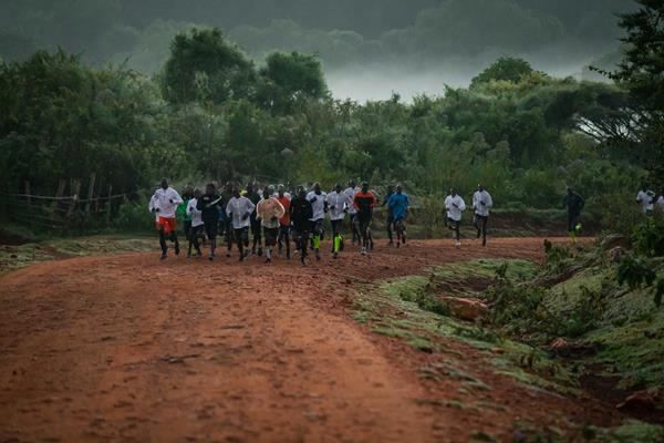 Athletes training in rural Kenya (NN Running Team/Dan Vernon)