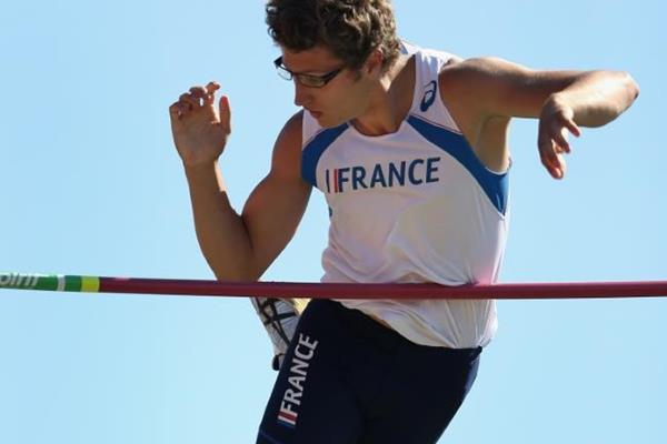 French pole vault Axel Chapelle at the IAAF World Junior Championships, Oregon 2014 (Getty Images)