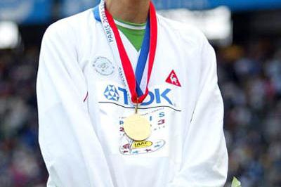 Djabir Said Guerni of Algeria - 800m gold medallist in Paris (Getty Images)