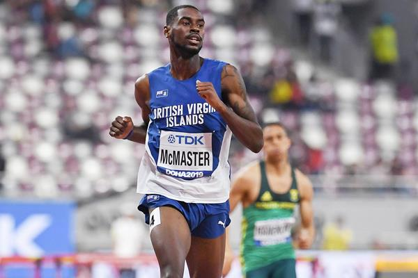 Kyron McMaster at the IAAF World Athletics Championships Doha 2019 (AFP / Getty Images)