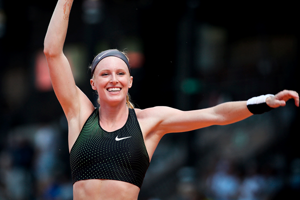 US pole vaulter Sandi Morris (AFP / Getty Images)