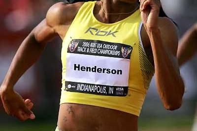 Monique Henderson, 51.17 in heats of USA nationals (Getty Images)
