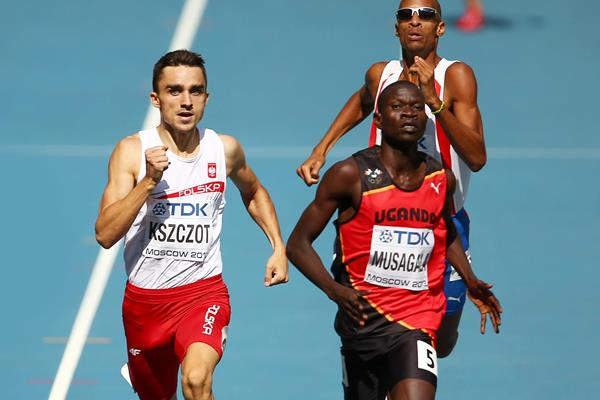 Ronald Musagala in action at the IAAF World Championships (Getty Images)
