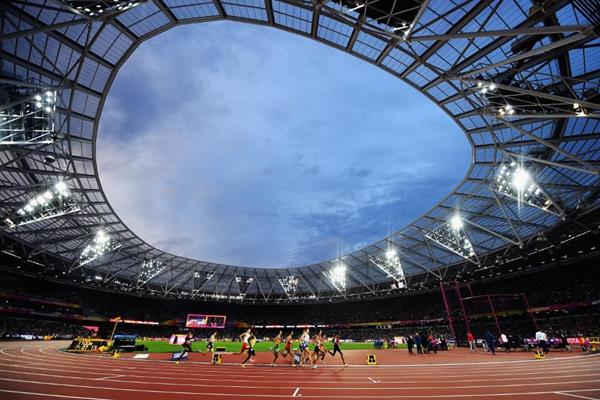 Runners in the men's 1500m semi-finals at the IAAF World Championships London 2017 (Getty Images)