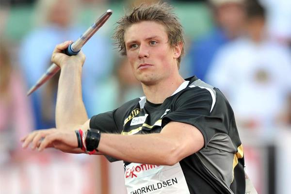 Defending his turf - Andeas Thorkildsen wins in Oslo (Mark Shearman)