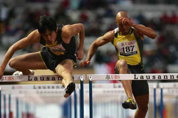13.01 for Liu Xiang in Lausanne (Getty Images)