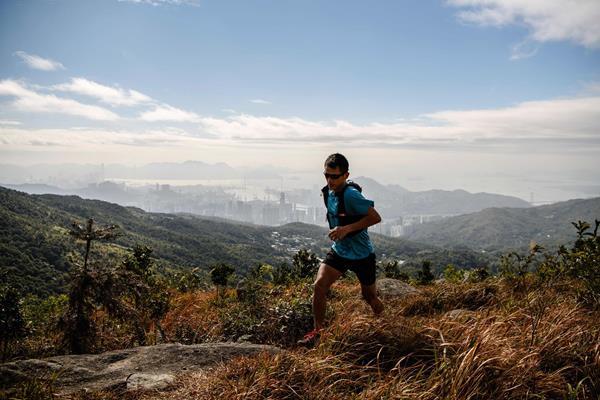 Tai Mo Shan in Hong Kong (AFP / Getty Images)