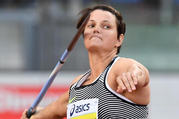 Sunette Viljoen at the 2016 IAAF Diamond League meeting in Rome (Gladys Chai)