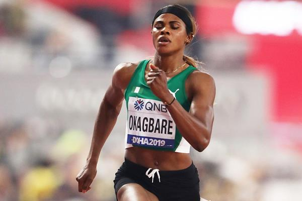 Blessing Okagbare at the IAAF World Athletics Championships Doha 2019 (Getty Images)