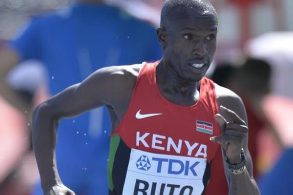 Vincent Kipyegon Ruto of Kenya in the opening round of the 3000m steeplechase at the IAAF World U20 Championships Bydgoszcz 2016 (Getty Images)