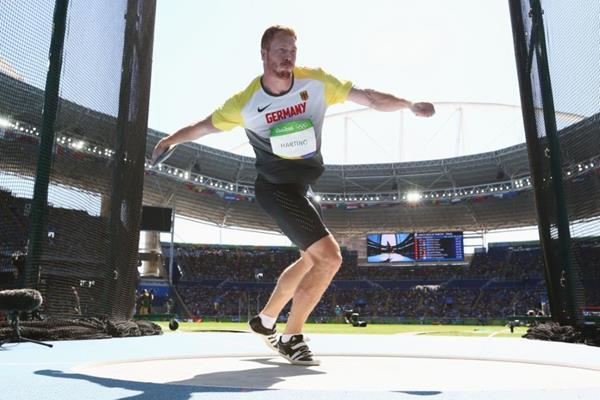 Christoph Harting in the discus at the Rio 2016 Olympic Games (Getty Images)