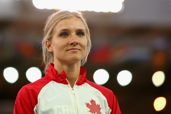 Canadian heptathlete Brianne Theisen-Eaton (Getty Images)