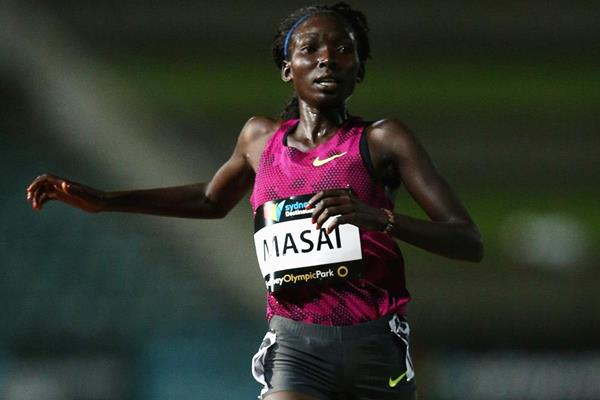Kenyan distance runner Magdalene Masai (Getty Images)
