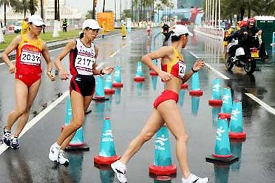 Chinese sweep Race Walk titles - Asian Games, Day One ...