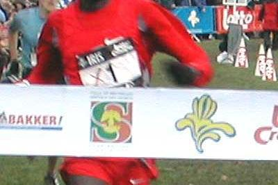2003 Iris Crosscup winner: Paul Tergat of Kenya (Heerinckx)