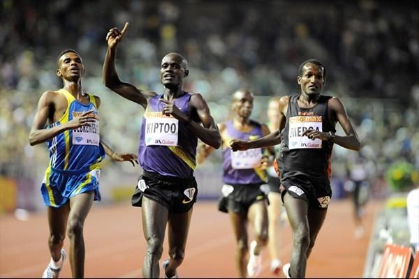 Mark Kiptoo takes a big 5000m win in Stockholm (Deca Text&Bild)