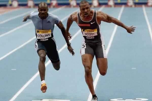 Leonard Scott wins highly expected 60m in Birmingham (Getty Images)