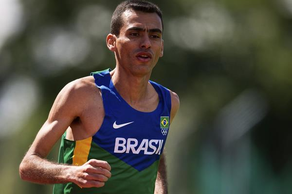Brazilian distance runner Marilson dos Santos (Getty Images)