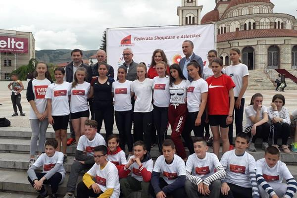 Kids Mile Run in Korca, Albania (Organisers)