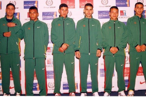 Morocco's men junior team (Mohammed Benchrif)